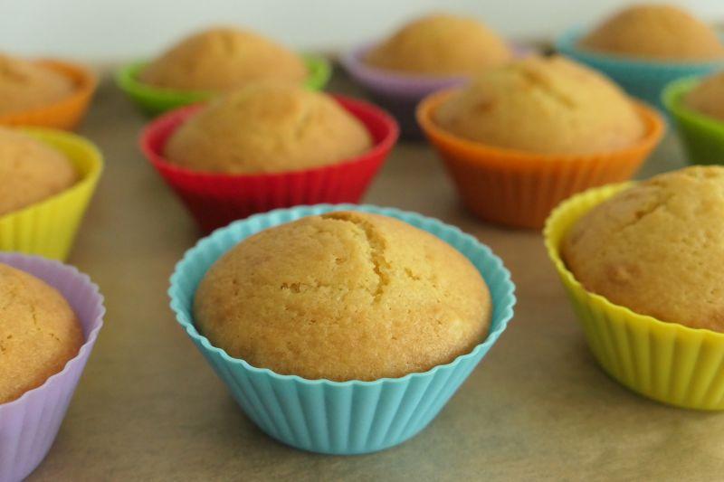 muffinki jogurtowe a'la Nigella Lawson