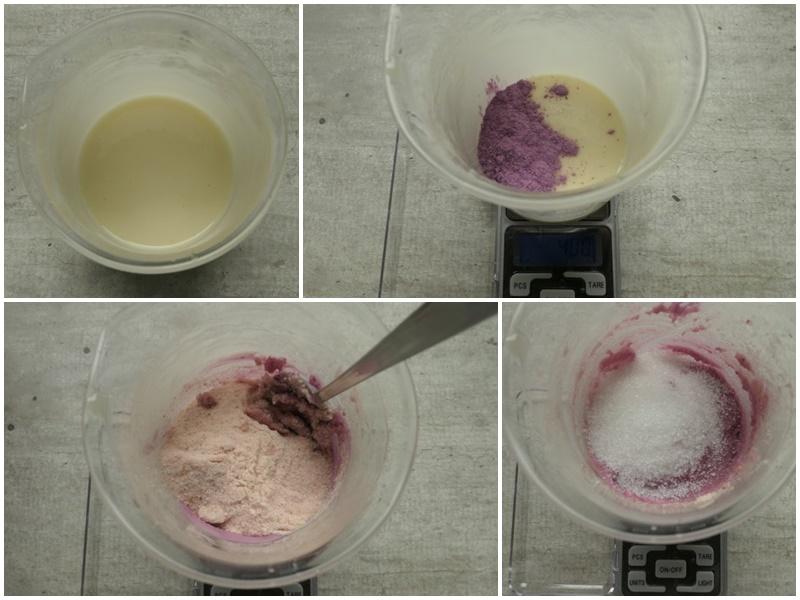 przepis na różowy peeling
