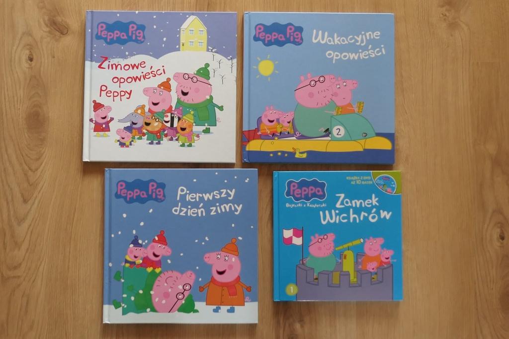 książki dla najmłodszych seria Świnka Peppa