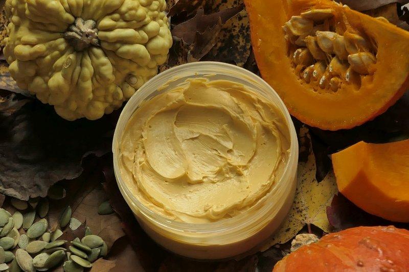 jak zrobić dyniowe masło do ciała