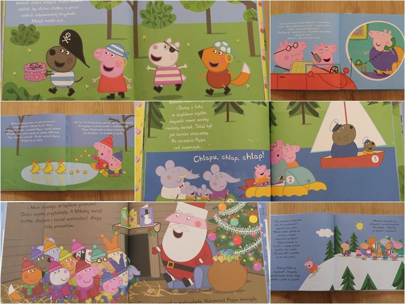świnka peppa seria książek dla przedszkolaka