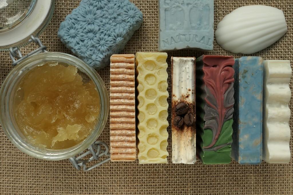 domowe naturalne mydła