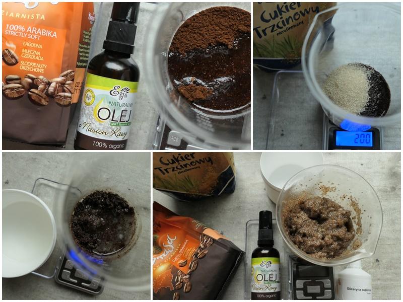 jak zrobić domowy peeling kawowy