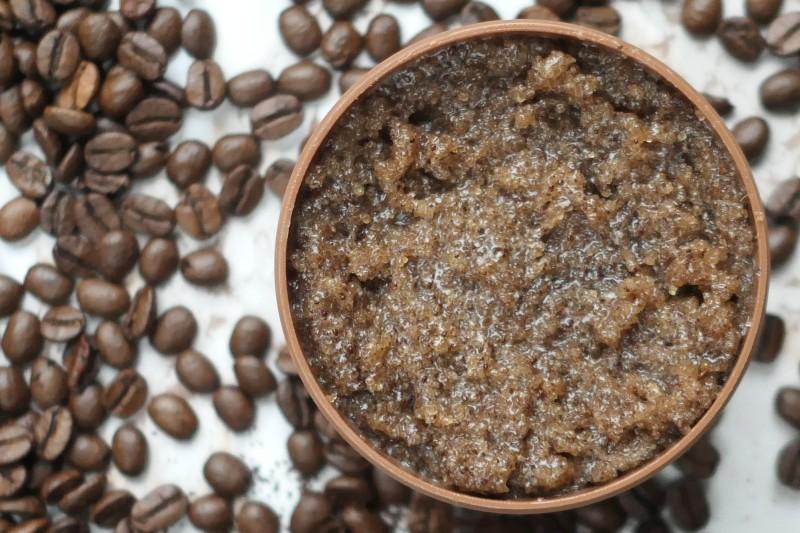 domowy scrub peeling kawowy
