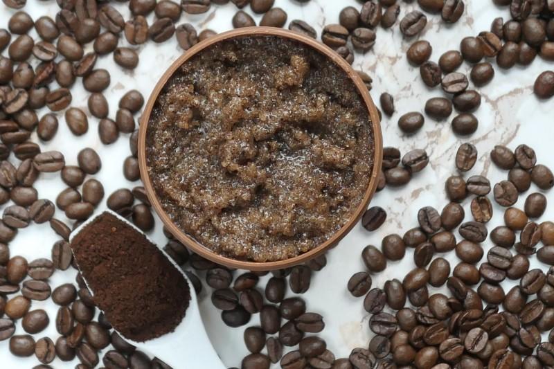 jak zrobić peeling pachnący czekoladową kawą