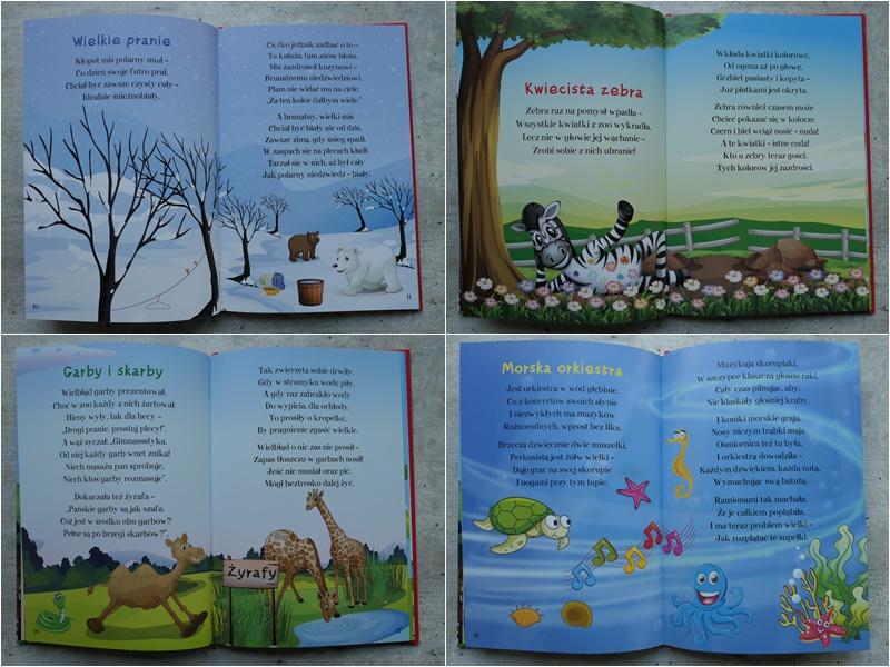 tanie i ładnie wydane książeczki dla dzieci z wierszami