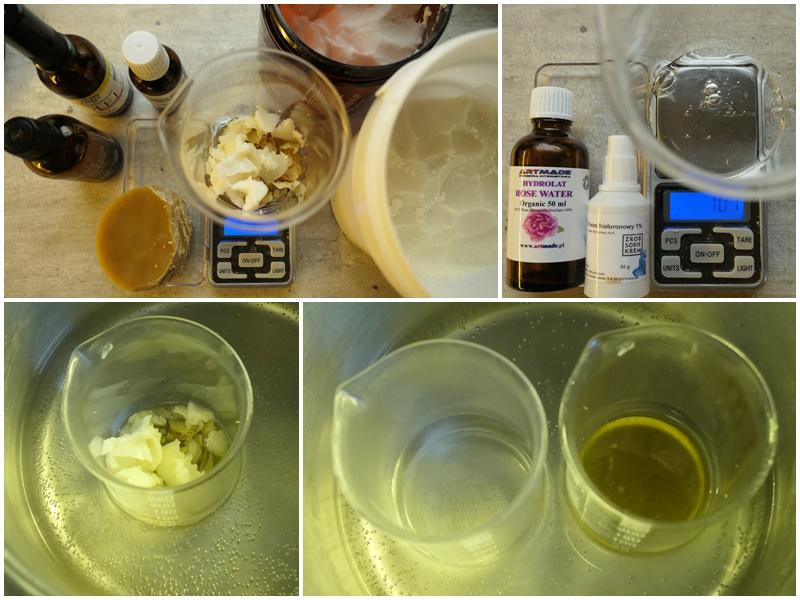 receptura na krem do rąk na wosku pszczelim