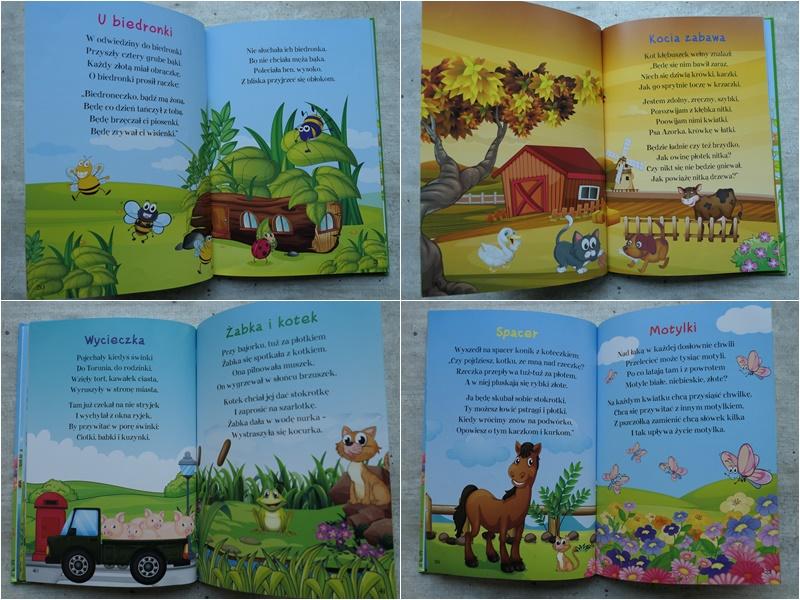 tanie ładne książeczki dla dzieci o zwierzętach