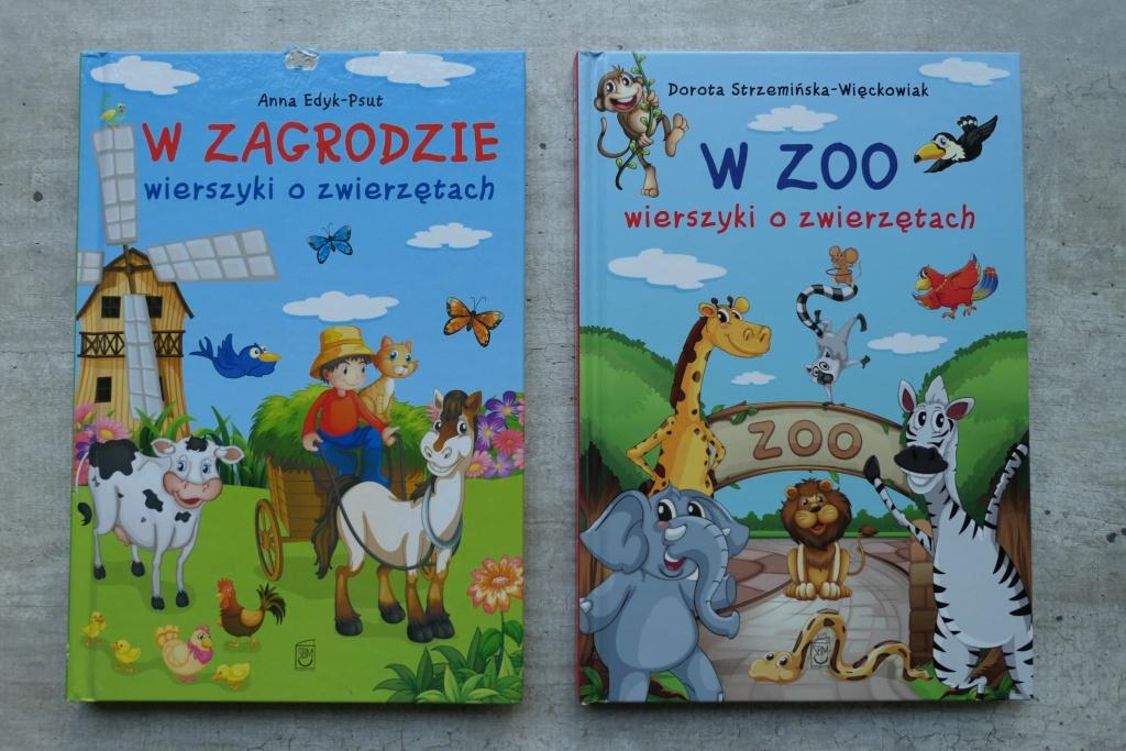 ładne książki z wierszami dla najmłodszych w dobrej cenie