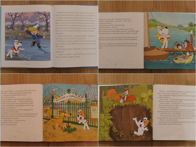 Reksio seria książeczek dla dzieci