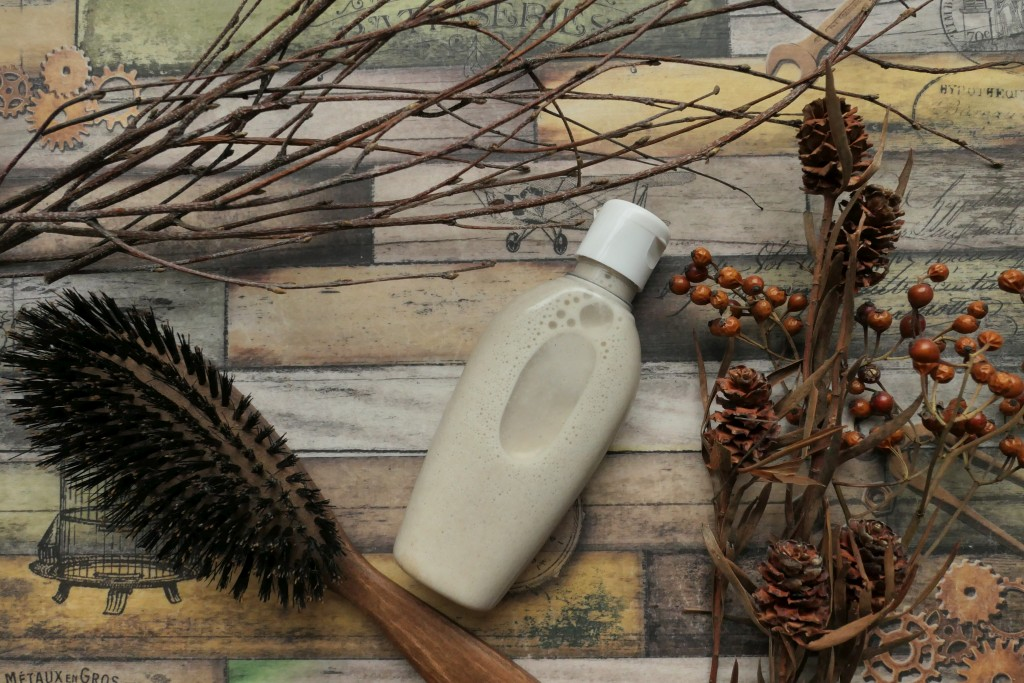 jak zrobić szampon z mąki żytniej