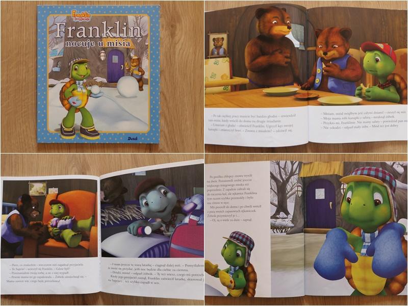 seria bajek z Franklinem z grafikami komputerowymi