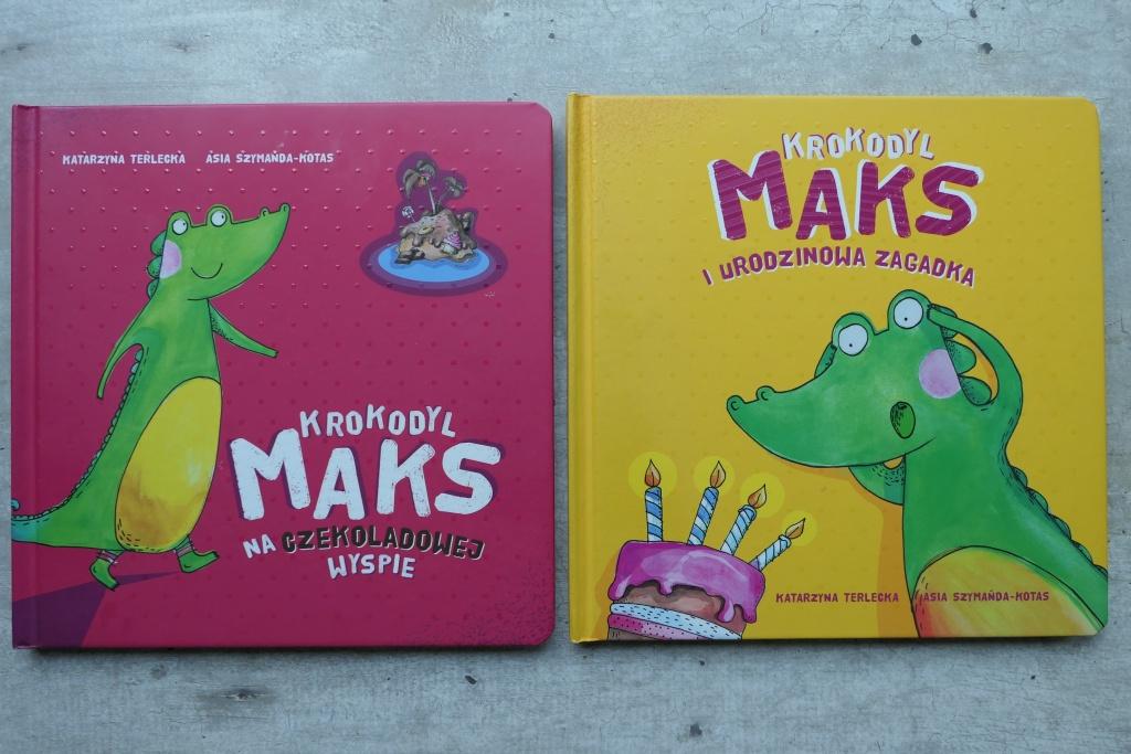 seria krokodyl Maks książeczki dla dzieci z morałem