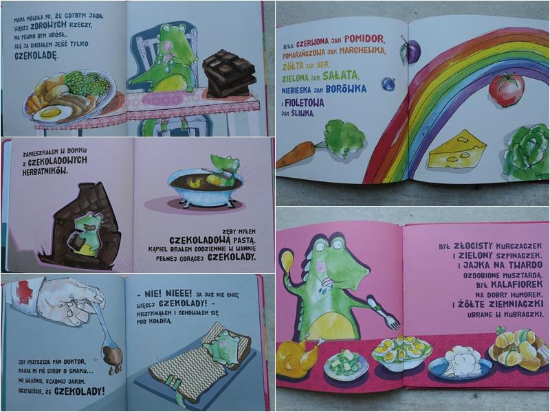 Krokodyl Maks dlaczego nie warto jeść tylko czekolady
