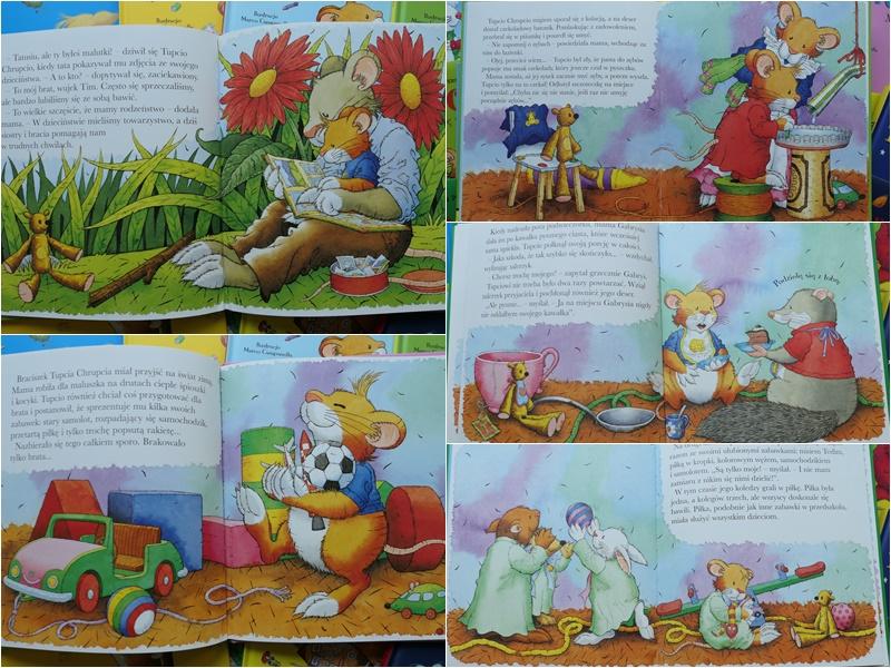 tupcio chrupcio seria książek z morałem dla dzieci