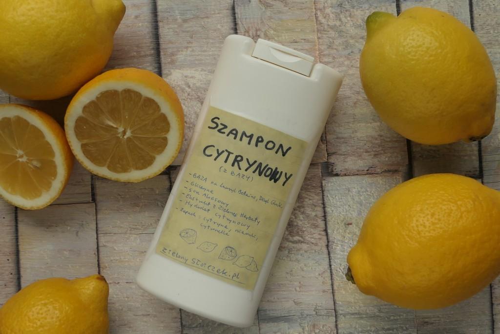 jak zrobić cytrynowy szampon z bazy