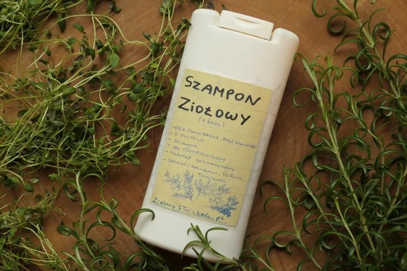 ziołowy szampon z bazy natura dla piekna