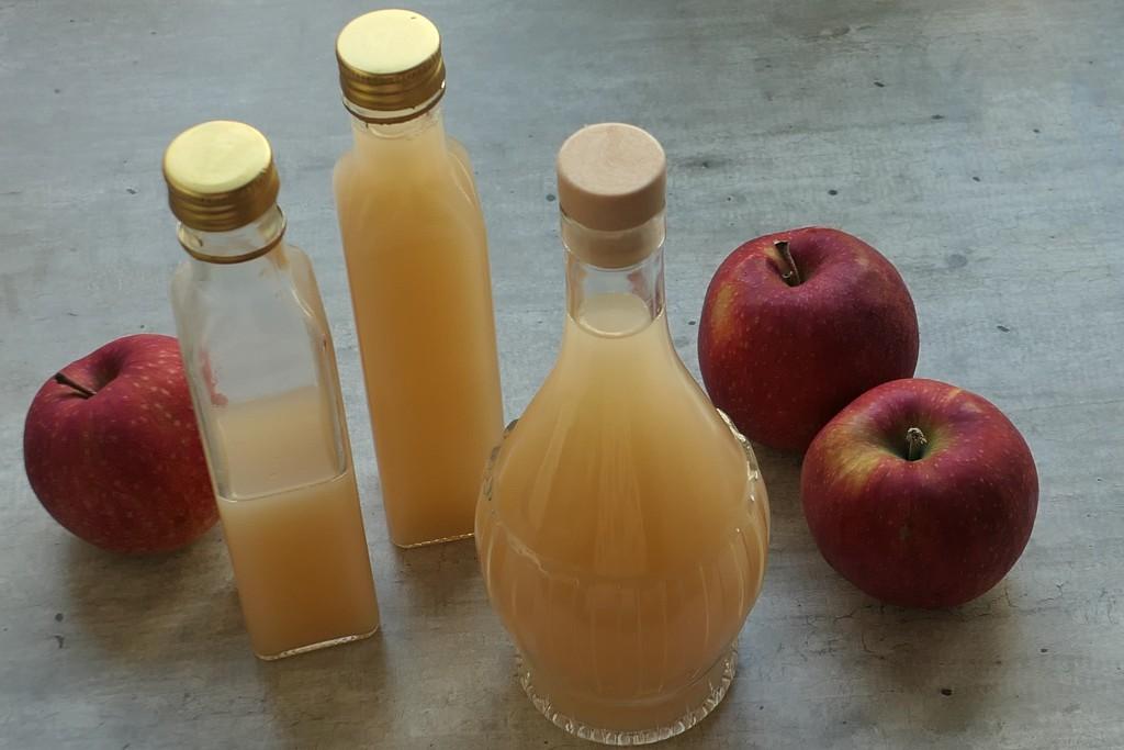 przepis na ocet jabłkowy