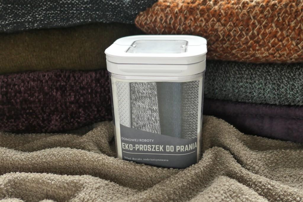 jak zrobić domowy proszek do prania ekologiczny tani prosty