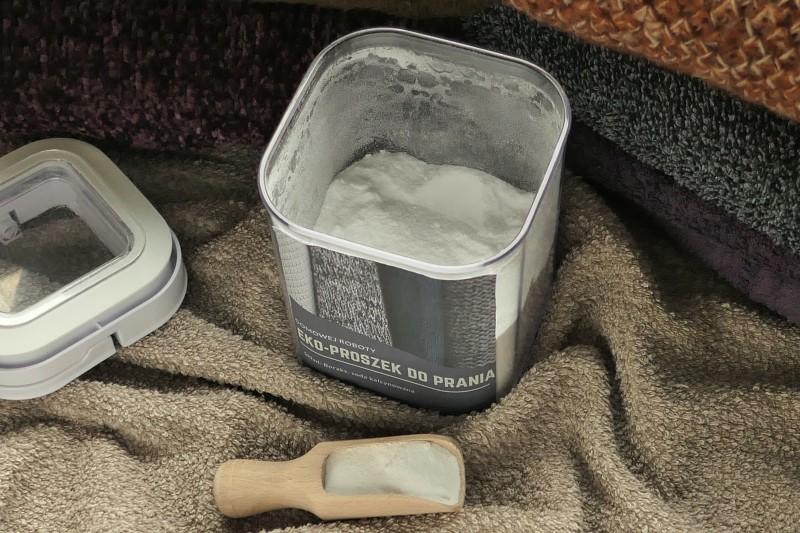 przepis na domowej roboty proszek do prania naturalne składniki