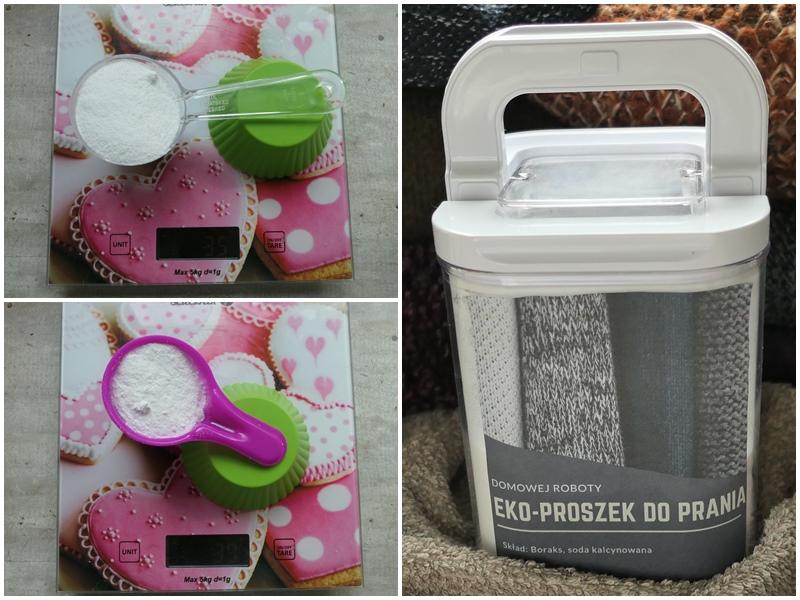 jak zrobić domowy eko proszek do prania z sody i boraksu