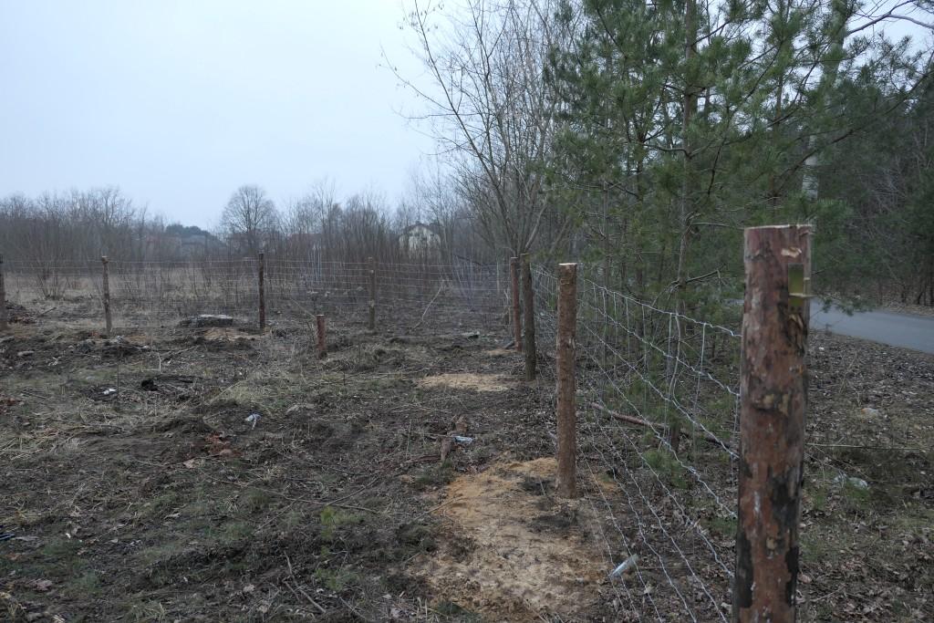 koszt ogrodzenia tymczasowego działki w Warszawie