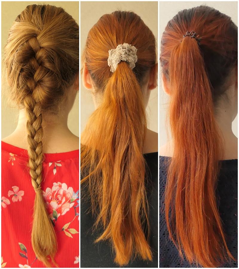 farbowanie włosów henną efekt przed i po