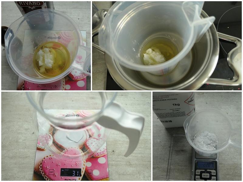 jak szybko zrobić mydła potasowe na zimno