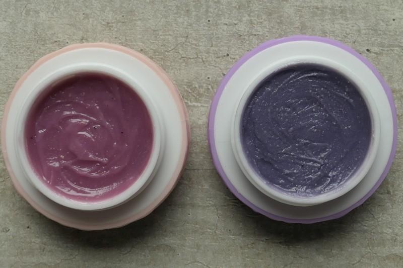 jak zrobić fioletowy i różowy błyszczyk do ust dla dziecka