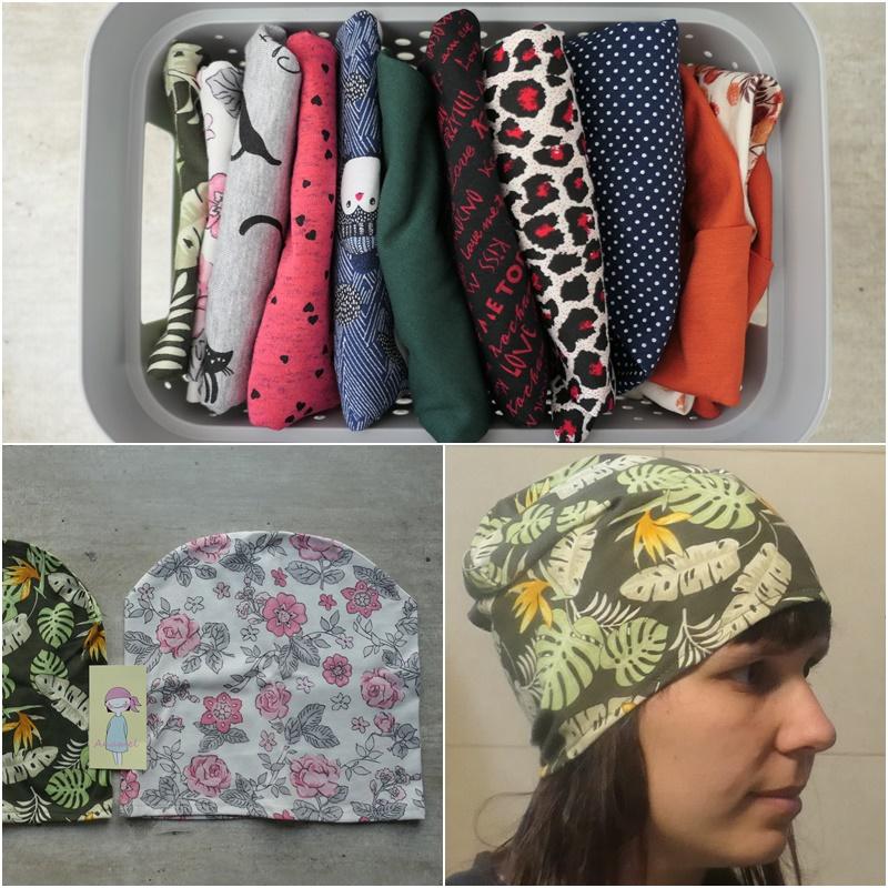czapki dla amazonek