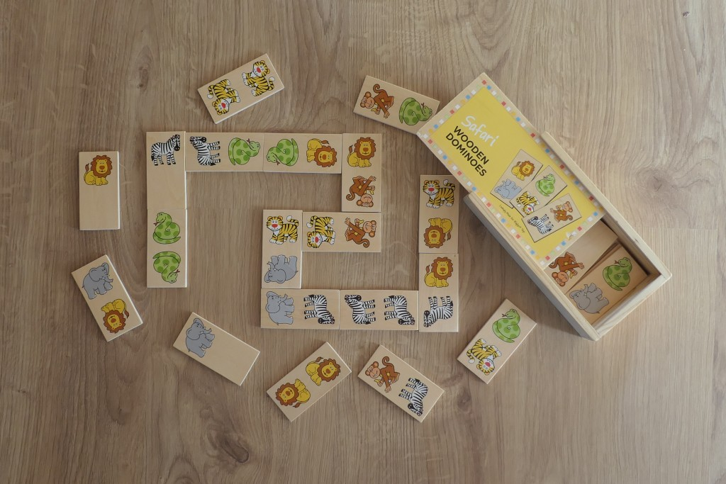 domino gra dla najmłodszych