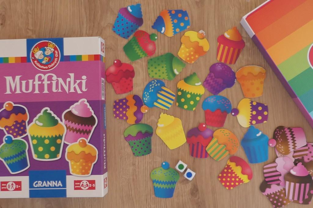 muffinki kolorowa gra