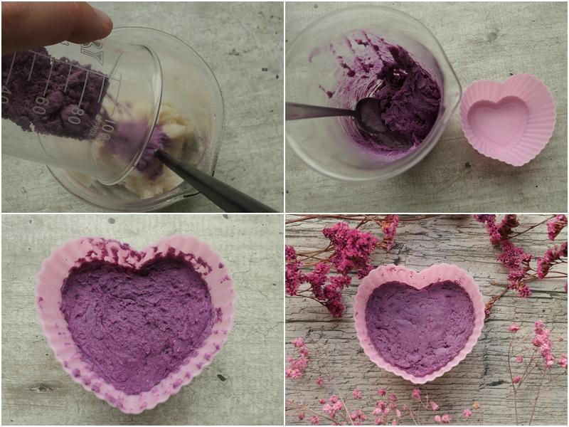 różowy szampon w kostce