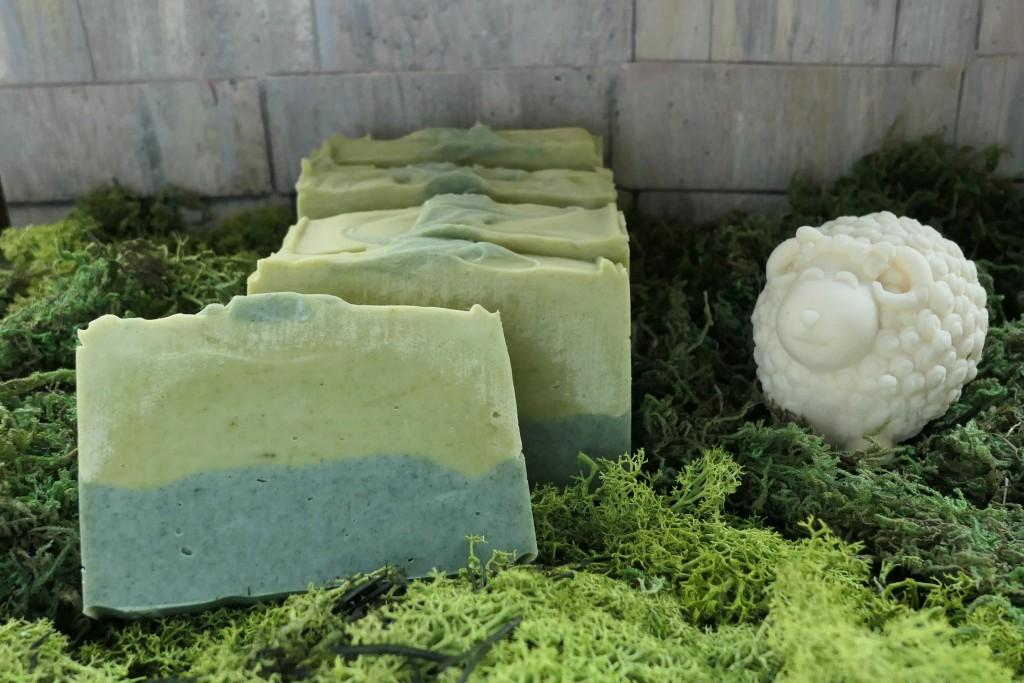 zielone wielkanocne mydło