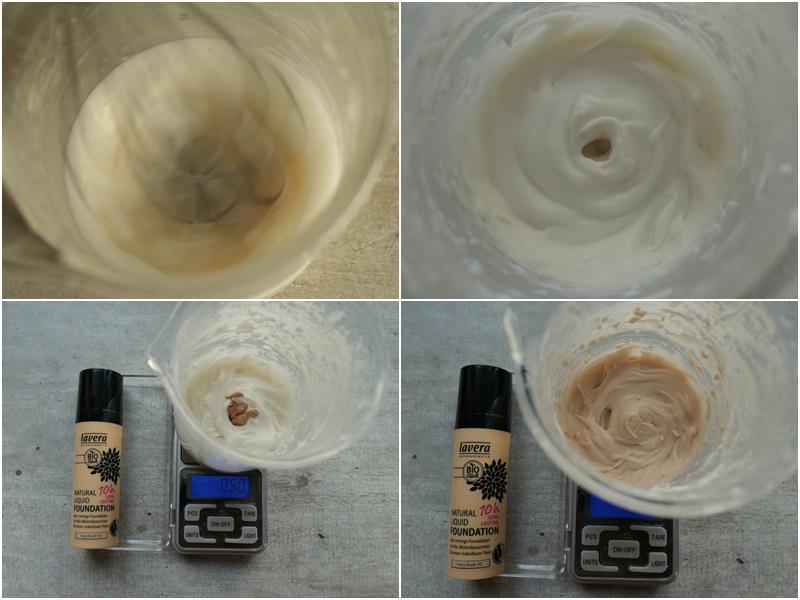 kawowy krem z fluidem