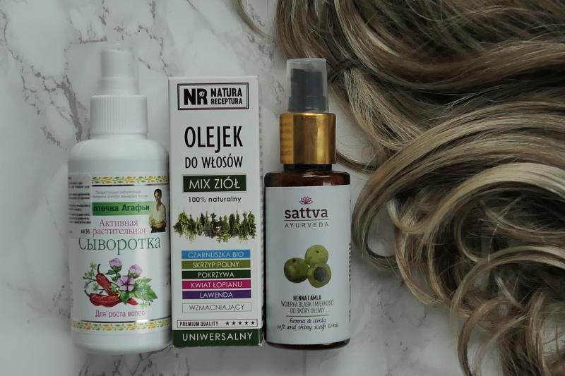 gotowe sklepowe produkty na porost i przeciw wypadaniu włosów
