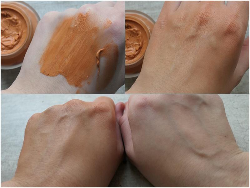 przepis na naturalny podkład do twarzy