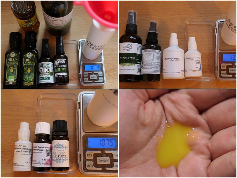 jak zrobić serum na porost włosów