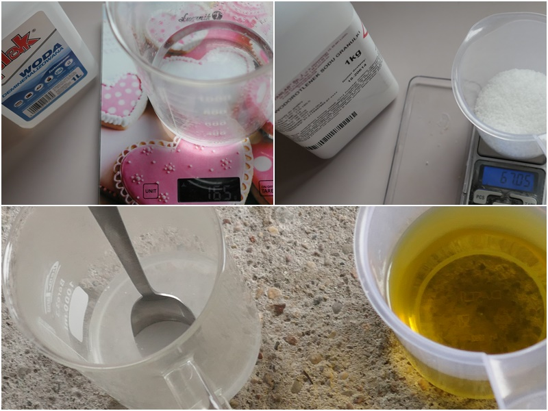 domowej roboty mydła różowe różane