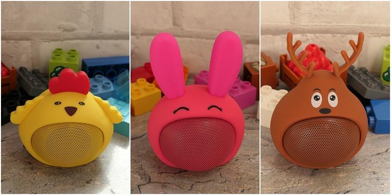 małe przenośne głośniki zwierzątka dla dzieci