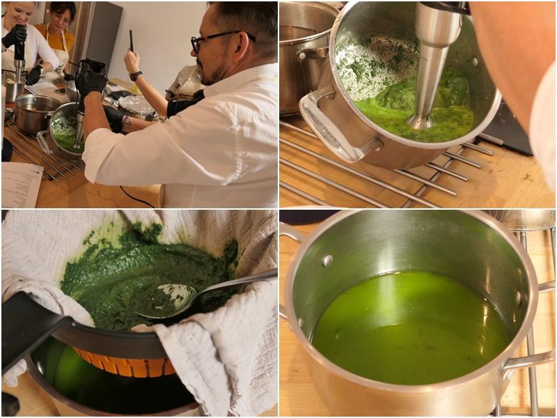 jak zrobić zielony olej koperkowo szpinakowy