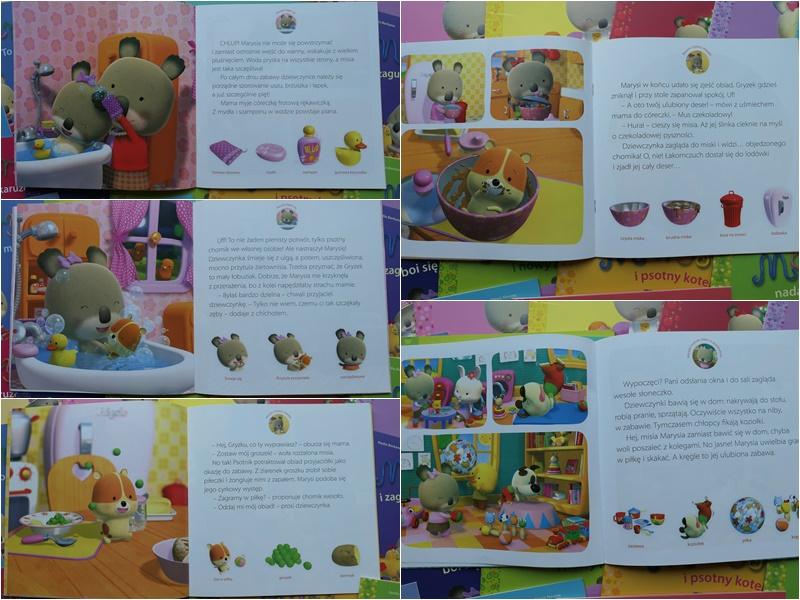książeczki dla najmłodszych dzieci misia marysia seria
