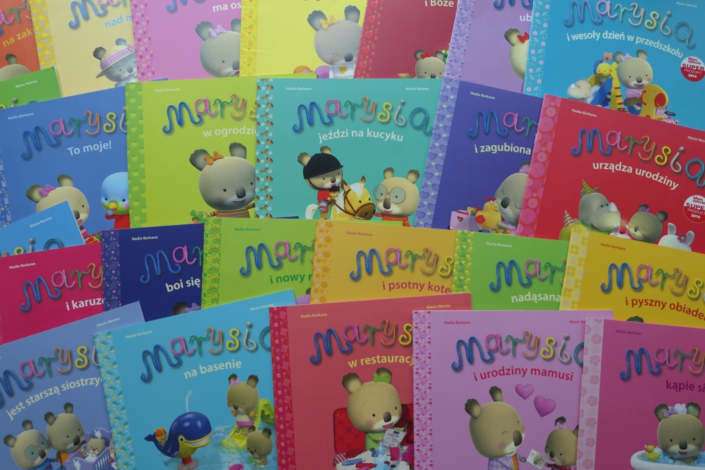 seria misia marysia dla małych dzieci