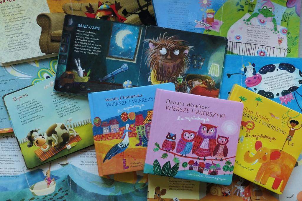 pięknie ilustrowane książeczki dla najmłodszych dzieci