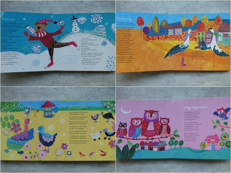 pięknie ilustrowane książeczki dla dzieci wierszyki zbiory